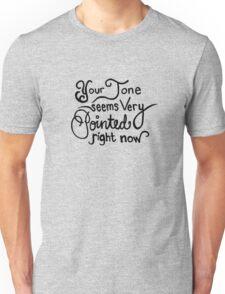 Willam Belli Calligraphy Quote Unisex T-Shirt