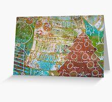 Xmas Card Design 8  Greeting Card