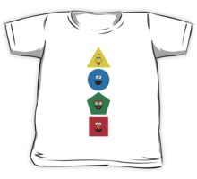 Sesame Street Primary Colors Basic Shapes Kids Tee