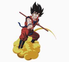 Goku Cloud Baby Tee