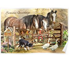 Christmas At Featherwell Farm Poster