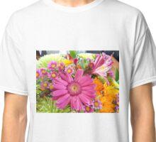 Vibrant Flowers Classic T-Shirt