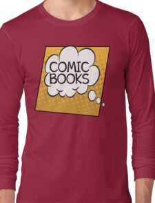 Comic Books Thought Bubble T Shirt Long Sleeve T-Shirt