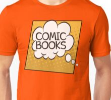 Comic Books Thought Bubble T Shirt Unisex T-Shirt