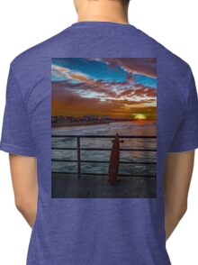 Just Stoked - Surf City USA Tri-blend T-Shirt