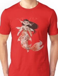 Koi Pond Mermaid Unisex T-Shirt