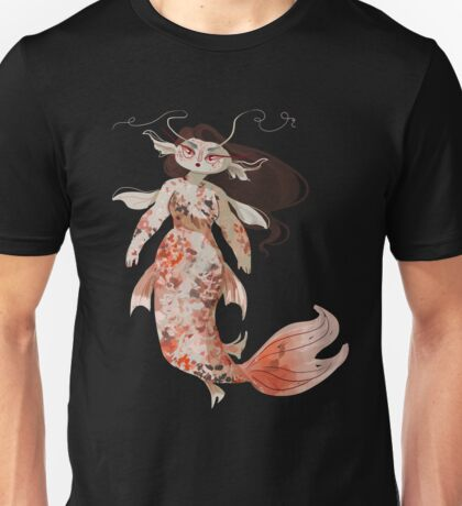 Koi Pond Mermaid Unisex T-Shirt