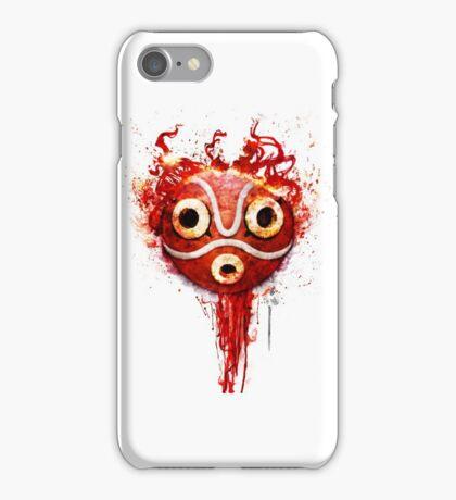 princess mononoke mask iPhone Case/Skin