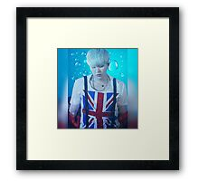 Suga -  Phone Cases and more Framed Print