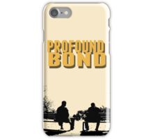 destiel profound bond phone case iPhone Case/Skin