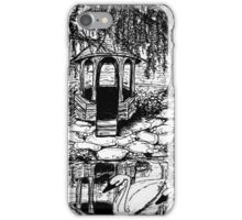 gazebo with swans iPhone Case/Skin