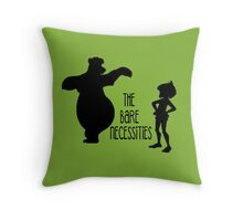 The Bare Necessities Throw Pillow