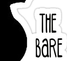 The Bare Necessities Sticker