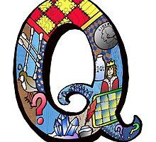 Doodle Letter Q by missmann