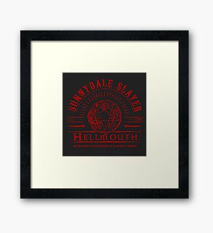 Hellmouth Framed Print
