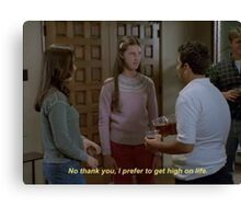 milly//freaks and geeks Canvas Print