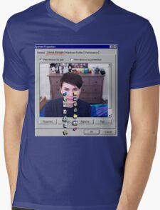 Dan Howell crying Windows 96 Mens V-Neck T-Shirt