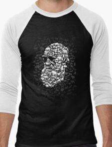 Darwin; Endless Forms Men's Baseball ¾ T-Shirt