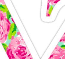 dz lily pink Sticker