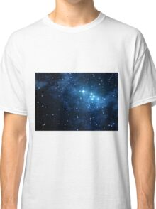 3d Rendered Space Scene Classic T-Shirt