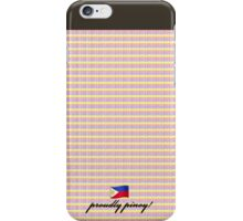 proudly pinoy philippine colours flag case iPhone Case/Skin