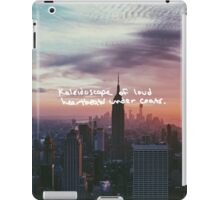 Taylor Swift Welcome to New York Lyric iPad Case/Skin