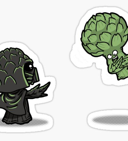Artichoked Sticker
