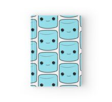 Cute blue Marshmallow Hardcover Journal