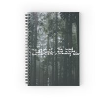 Taylor Swift Out of the Woods Lyric Spiral Notebook