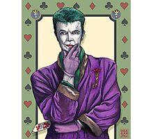 Bowie Joker Photographic Print