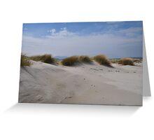 Luskentyre Sand Dunes Greeting Card