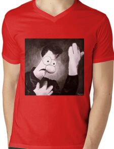 Meemees (Heroes) Mens V-Neck T-Shirt
