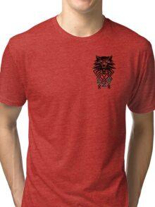 Witcher Medallion Tri-blend T-Shirt