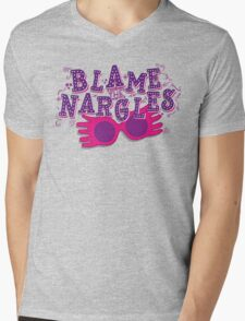 Blame the Nargles Mens V-Neck T-Shirt