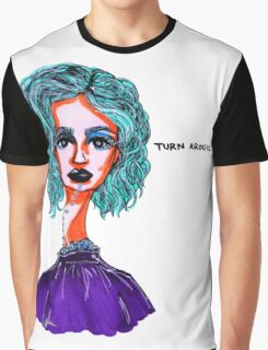 Turn Around Graphic T-Shirt