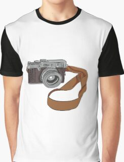 Vintage Camera Drawing Isolated Graphic T-Shirt