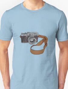 Vintage Camera Drawing Isolated Unisex T-Shirt