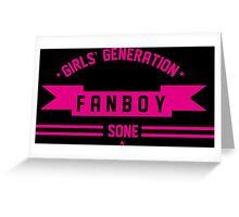 GIRLS GENERATION FANBOY Greeting Card