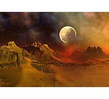 Alien Planet - Fantasy Landscape Photographic Print