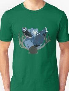Inverted Forest Animals Unisex T-Shirt