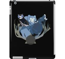 Inverted Forest Animals iPad Case/Skin