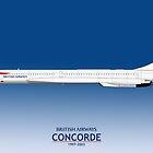 British Airways Concorde 1997 To 2003 by © Steve H Clark