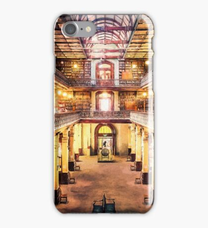 Let Us Retire to the Library      (RVR) iPhone Case/Skin