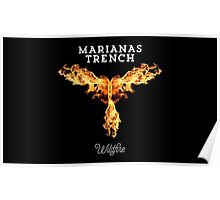 marianas trench wildfire Poster