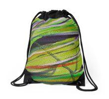 Abstract 1 Digitally Enhanced 3   Drawstring Bag