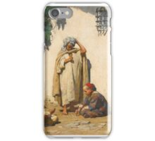 Frederick Arthur Bridgman  AMERICAN THE YOUNG SCRIBE iPhone Case/Skin