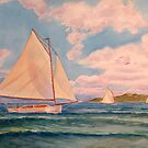 Boats in a Breeze by Gregory Pastoll