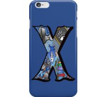 Doodle Letter X iPhone Case/Skin