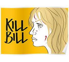 Kill Bill (Transparent) Poster