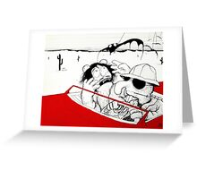 Fear and Loathing in Muppet Vegas Greeting Card